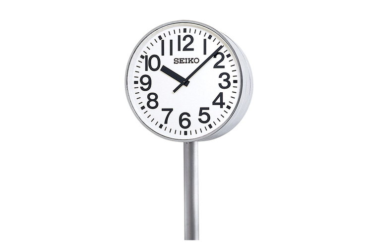 Double-Faced Pole Clock(Outdoor/Rainproof)