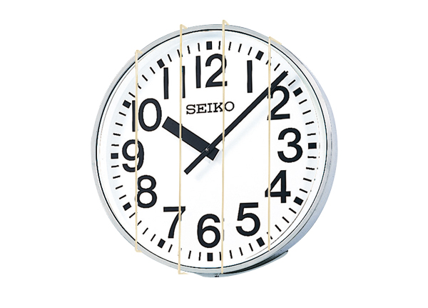 Protector for 700-mm outdoor wall clock