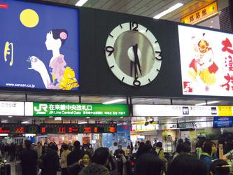 JR仙台駅 中央改札