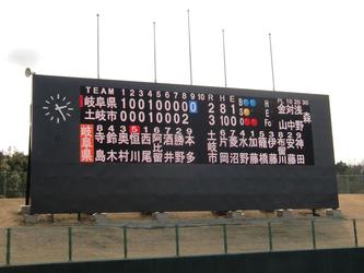 土岐市総合運動公園野球場