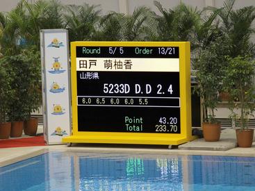 笠松運動公園屋内水泳プール 兼 アイススケート場(山新スイミングアリーナ)