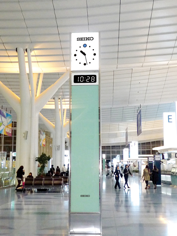 羽田空港(国際線旅客ターミナル) | 納入事例-セイコータイム ...